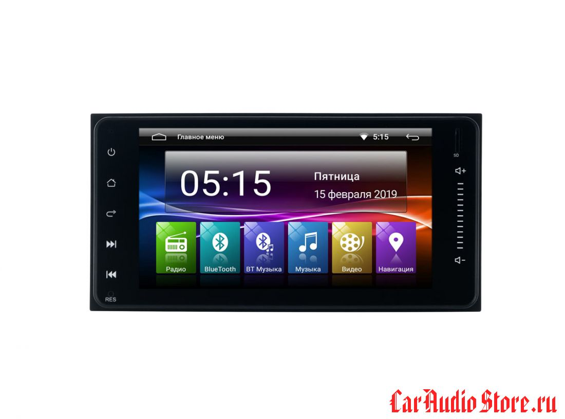 """INCAR AHR-2233 TOYOTA Universal 7,0"""" (Android 7.0)"""