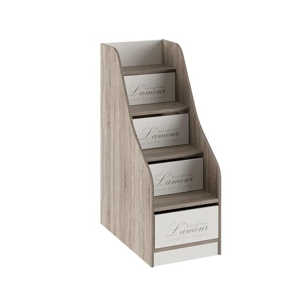 Лестница приставная «Брауни» с ящиками