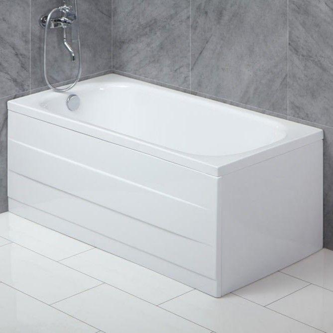 Маленькая ванна Belbagno BB101 на каркасе 120x70 ФОТО