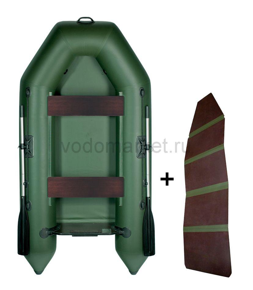 Аква 2600 + складная слань (Лодка ПВХ)
