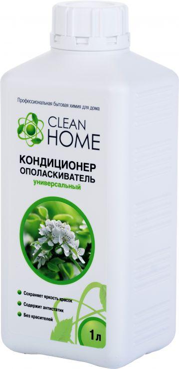 Clean Home Кондиционер-ополаскиватель для белья Яблоневые сады 1 л