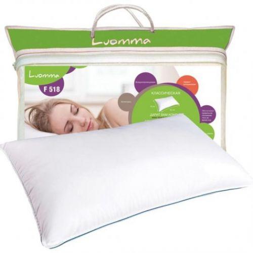 Классическая подушка Luomma F-518 с эффектом памяти.