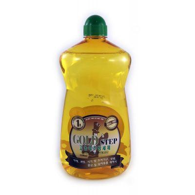 GOLD STEP Dishwashing liquid Жидкость для мытья посуды (с частицами золота), 1100 ml