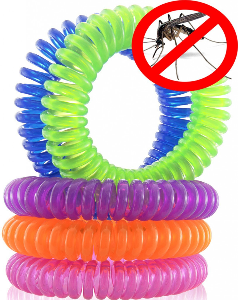Браслет репеллентный - спиралька от комаров москитов мошек Mosquito Ring