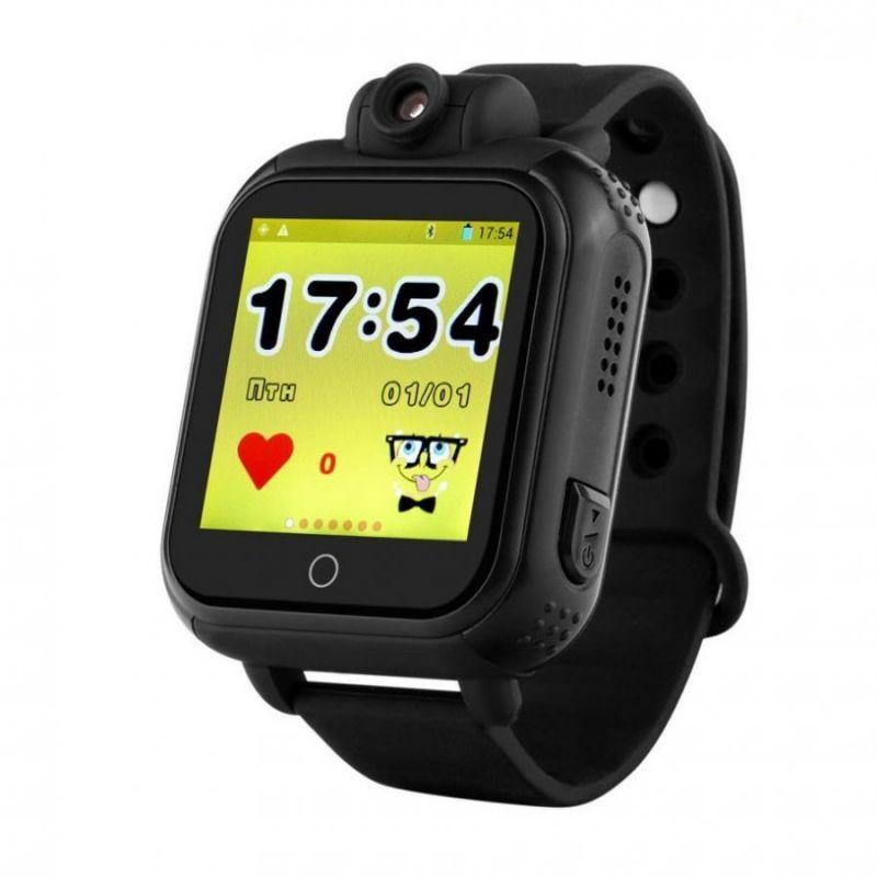 Умные Детские Часы С GPS Smart Baby Watch GW1000 (G75), Цвет Черный