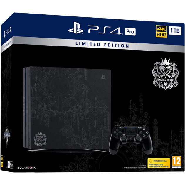 Игровая консоль Sony Playstation 4 Pro 1TB (CUH-7208B) Kingdom Hearts 3 Limited Edition