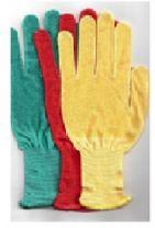 Перчатки нейлоновые без ПВХ (желтые)