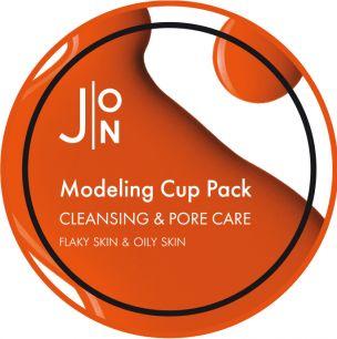 """""""J:ON"""" CLEANSING & PORE CARE MODELING PACK Альгинатная маска """"ОЧИЩЕНИЕ И СУЖЕНИЕ ПОР"""", 18гр"""
