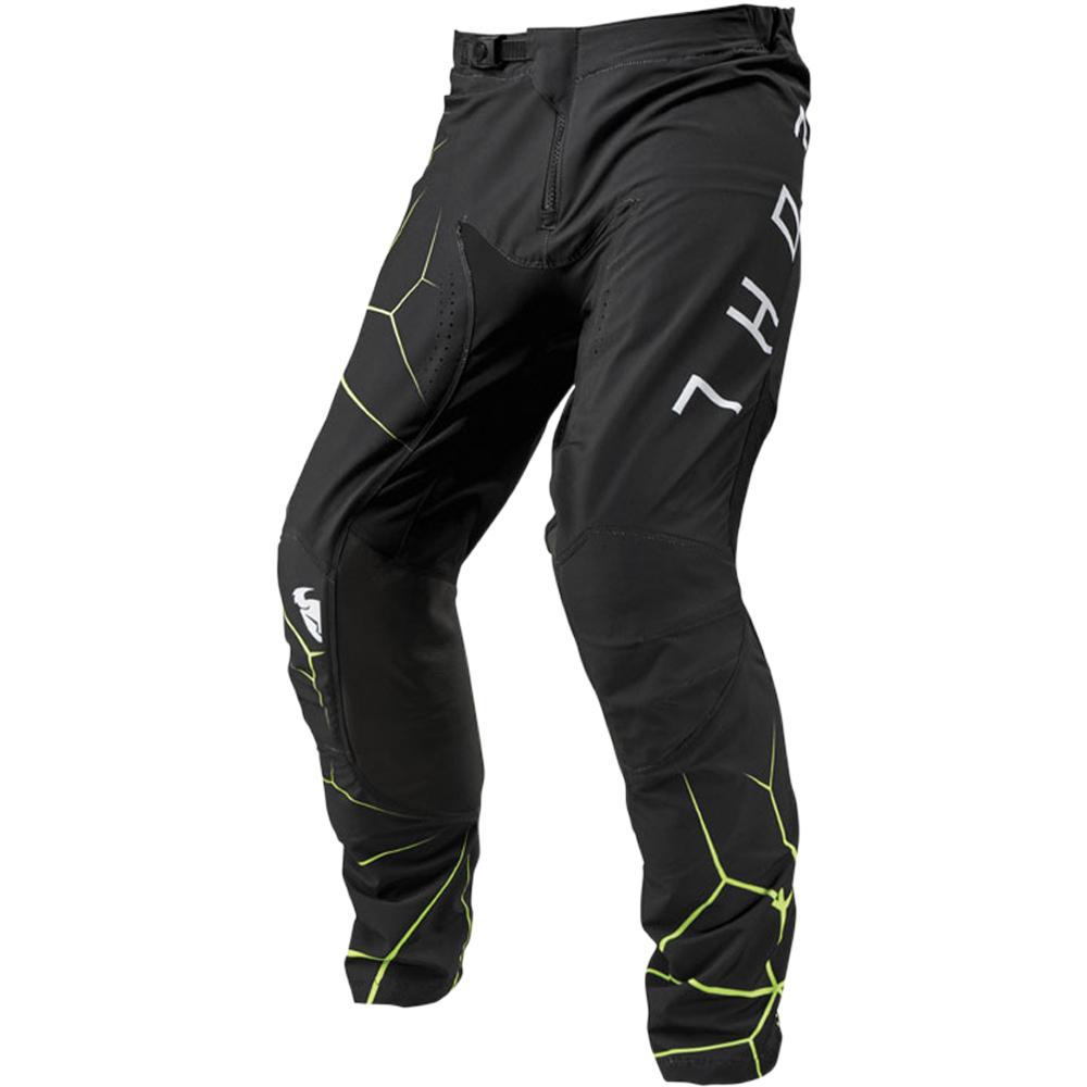Thor - 2019 Prime Pro Infection Black/Acid штаны, черно-зеленые