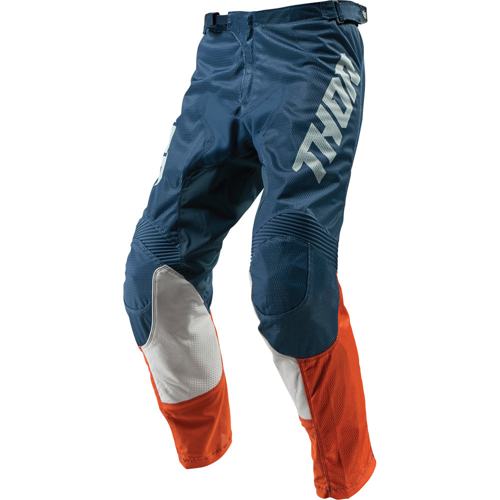 Thor - 2019 Pulse Air Acid Red/Orange/Slate штаны, красно-оранжево-синие
