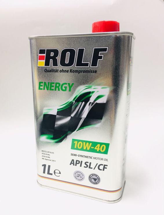 Масло моторное Rolf Energy 10W40 1л 322232
