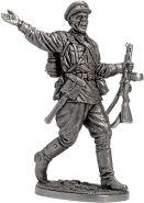 Старший сержант пехоты РККА. 1941-43 гг. СССР (олово)