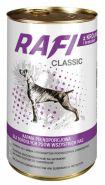 RAFI CLASSIC кусочки мяса кролика в соусе с брокколи 415г