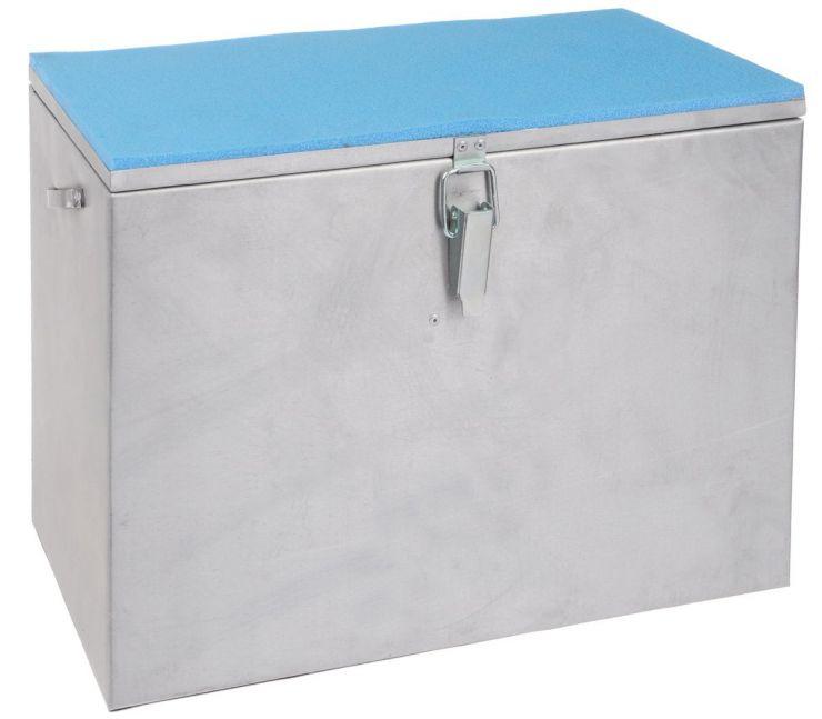 Ящик зимний алюминиевый 300*190*290 одноярусный Рост