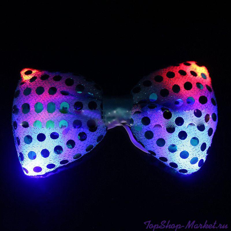 Светящаяся карнавальная бабочка, Цвет: Сиреневый