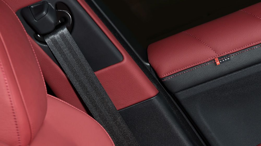 Обшивка стоек (Range Rover Evoque)