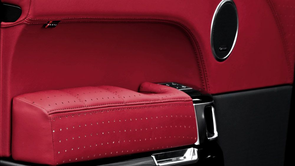 Обшивка подлокотников дверей (Range Rover Vogue 2013)