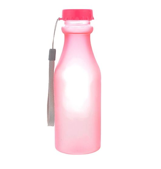 Бутылка для воды Bra Free, цвет розовый