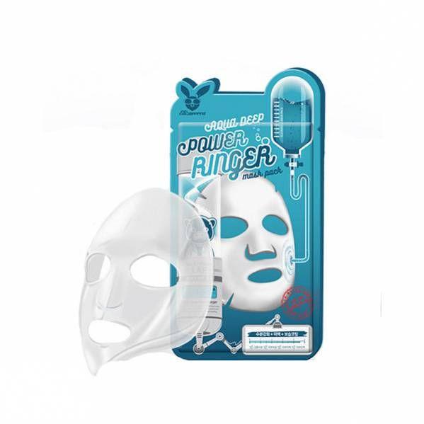 Тканевая маска для лица Увлажняющая Elizavecca  AQUA  DEEP POWER Ringer mask pack, 1шт