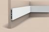 Молдинг Гладкий Orac Decor SX163 Square - 10,2*1,3*200см Лепнина из Дюрополимера