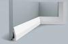 Плинтус Orac Decor SX159 Д200xШ1.2xВ6 см Лепнина из Дюрополимера / Орак Декор