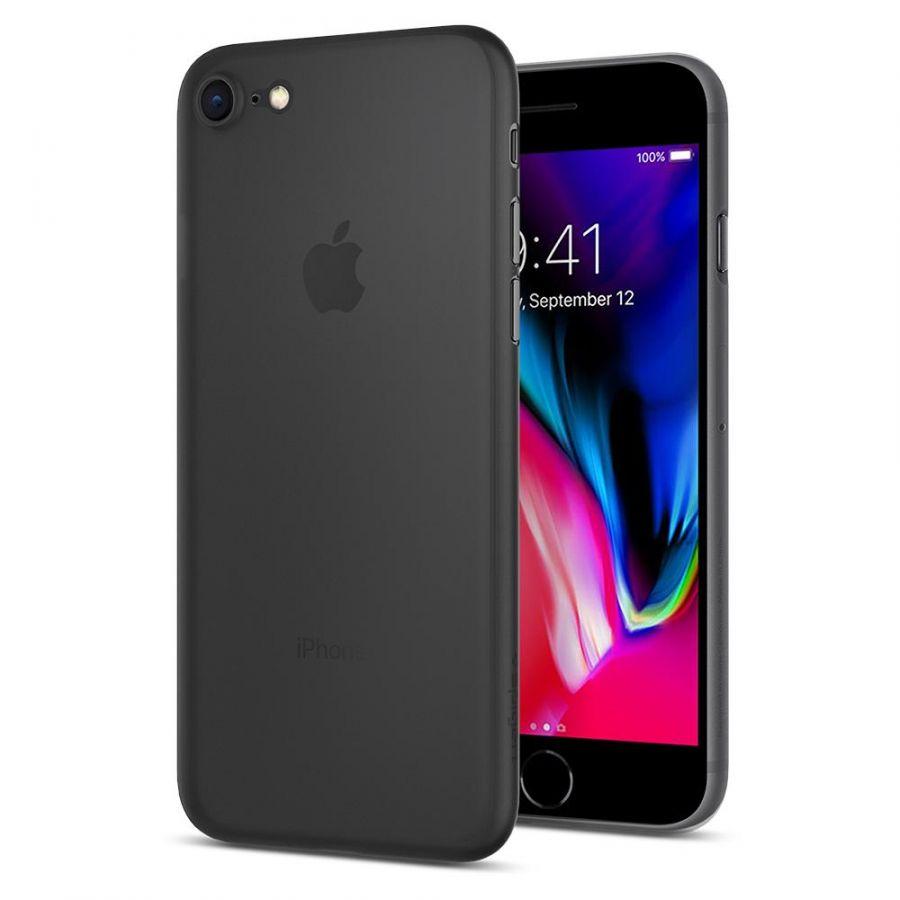 Чехол Spigen Air Skin для iPhone 7 черный