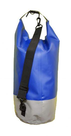 Гермомешок Woodland Dry Bag 20 л, пвх, с лямкой, цвет синий