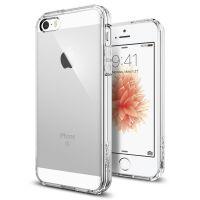 Чехол Spigen Ultra Hybrid для iPhone 5/5S/SE кристально-прозрачный