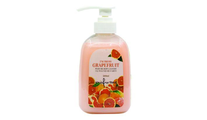 [3W CLINIC] Гель д/душа ГРЕЙПФРУТ I'm Fresh Grapefruit Purfume Body Cleanser, 500 мл