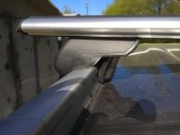 Багажник на крышу Kia Sorento Prime, 2016-..., с интегрированными рейлингами, Атлант, аэродинамические дуги