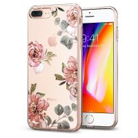 Чехол SGP Spigen Liquid Crystal Aquarelle для iPhone 8 Plus розы