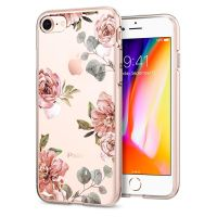 Чехол SGP Spigen Liquid Crystal Aquarelle для iPhone 8 розы
