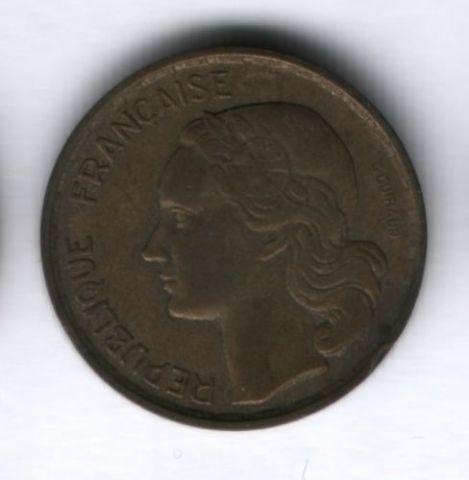 20 франков 1953 года Франция