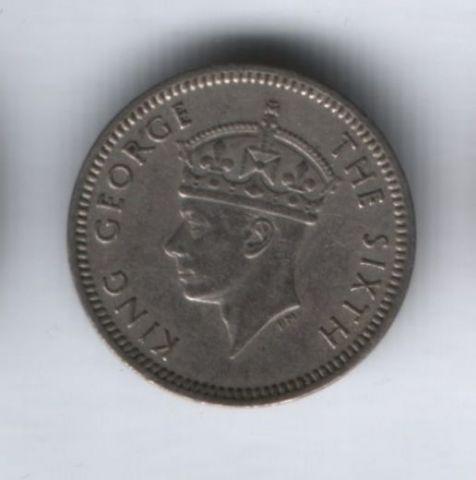 3 пенса 1951 года Южная Родезия XF