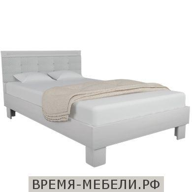 Кровать «Азалия 1200М» Бодега белый