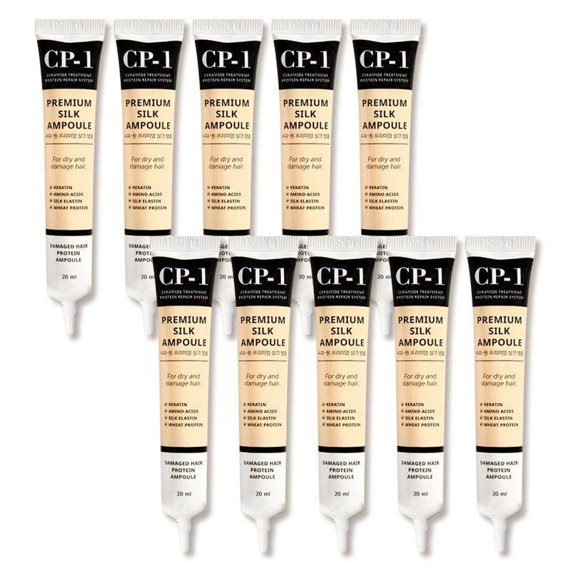 ESTHETIC HOUSE Набор несмываемой сыворотки для волос с протеином шелка CP-1 Premium Silk Ampoule, 20мл*10шт