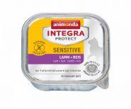 Animonda Integra конс. Sensitive c ягненком и рисом д/кошек при пищевой аллергии, 100г