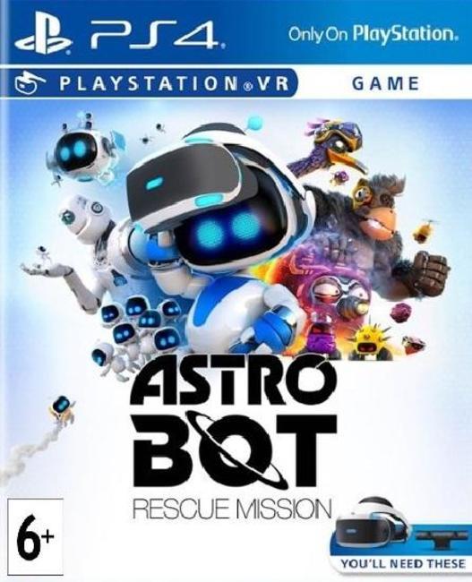 Astro Bot Rescue Mission (только для PS VR) русская версия