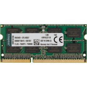 Модуль памяти Kingston DDR3 SO-DIMM 8GB KVR16LS11/ 8