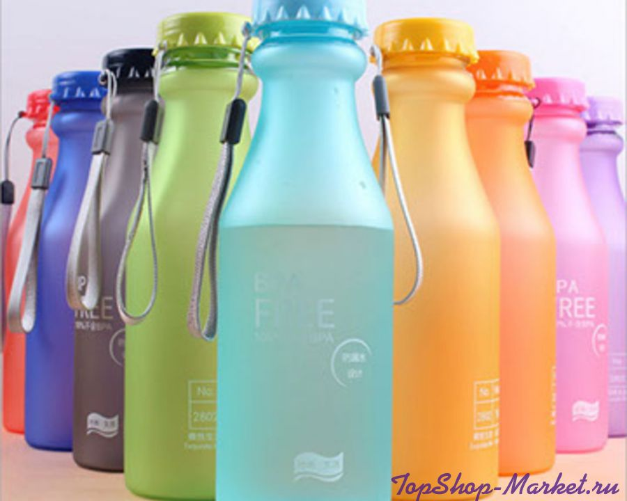 Бутылка для воды Bra Free, Цвет: Розовый
