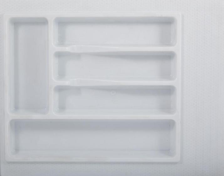 Вкладка для столовых приборов 500 мм белая