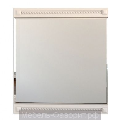 Зеркало «Азалия 4.2» Бодега белый