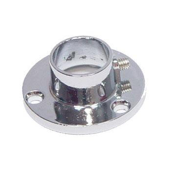 Фланец для рейлинга D16 мм, хром