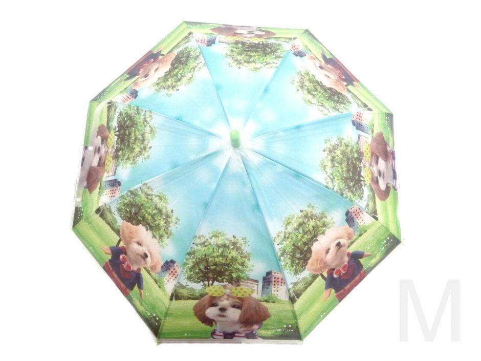 Детский виниловый зонтик с щенятами