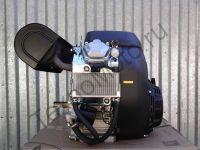 Zongshen ZS GB750E (750 куб. см) бензиновый двигатель с двумя цилиндрами мощностью 30 л. с., электростартером и воздушным охлаждением, диаметр вала 24,5 мм. Мощный и надежный агрегат для установки на самоходную и силовую технику: для снегохода Буран, Рысь