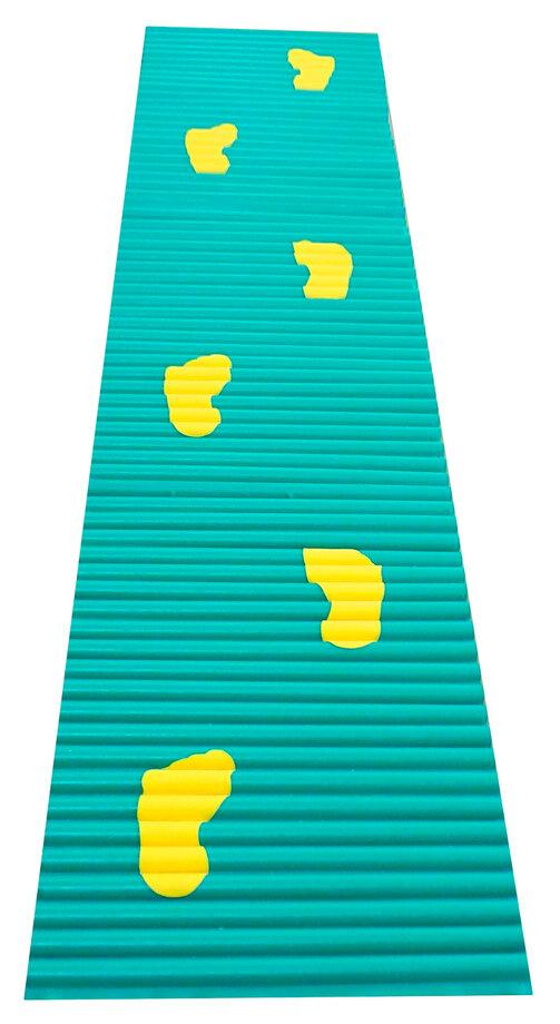 Ребристая (ортопедическая) дорожка со следочками. 1,8 м
