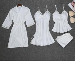 комплект халат, сорочка, шорты с топом, размер  S M L, модель 448