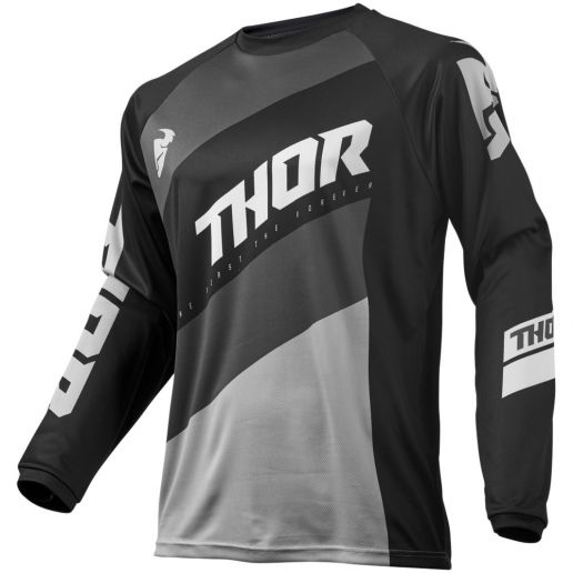 Thor - 2019 Sector Shear Black/Grey джерси, черно-серое