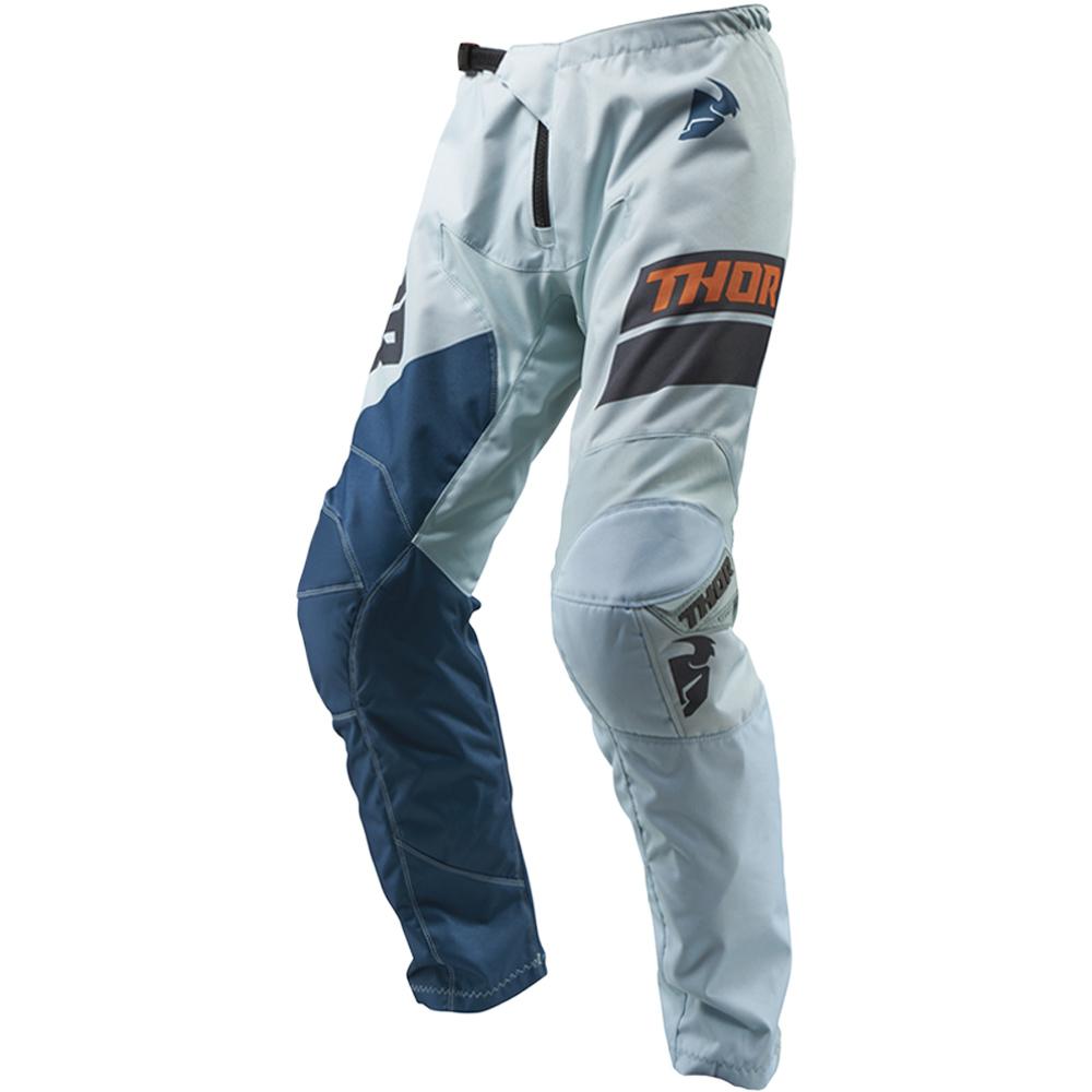 Thor - 2019 Sector Shear Sky/Slate штаны, оранжево-синие
