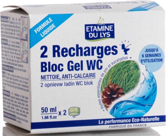 Etamine Du Lys Компактный блок-гель для обработки туалетов рефилл 2 шт 50 мл